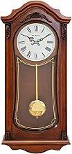 MAISONICA Wooden Swinging Pendulum Mahogany Finish