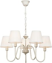 Majeic 5-Light Shaded Chandelier Lily Manor
