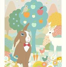 Majvillan - Chocolate Print Wall Sticker -