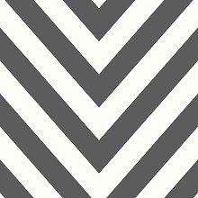 Make Believe Chevron Striped Pattern Wallpaper
