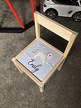 MakeThisMine Personalised Children's Chair