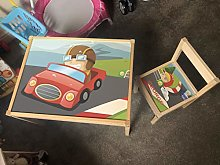MakeThisMine Personalised Children's Table and