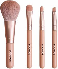 Makeup Brush Set, 4 Pcs Professional Ultra Soft