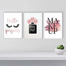 Makeup Poster Nordic Wall Art Fashion Eyelash