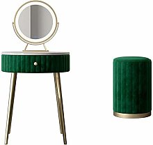 Makeup Table Green Dressing Table With Mirror And