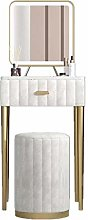 Makeup Table White Dressing Table With Mirror And