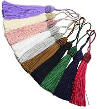 Makhry 20pcs 15.5cm/6 Inch Silky Floss bookmark