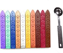 Makhry All in One Sealing Wax Kit with 10 pcs 3