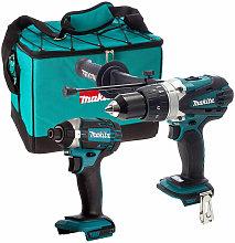 Makita 18V DHP458Z Combi Drill + Makita DTD152Z