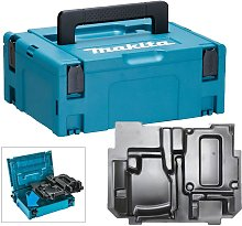 Makita 18v Jigsaw Makpac Tool Case with Inlay for