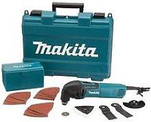 Makita 320W Multi-Tool With 56 Piece Accessory Set