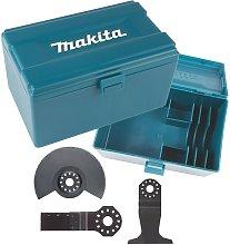 Makita 3PC BIM Multi Tool Set 100mm Segment Saw
