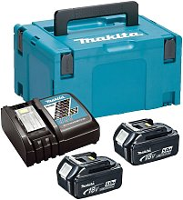 Makita BL1850 18v 2 x 5.0ah Lithium Batteries