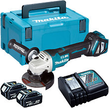 Makita DGA463Z 18V Brushless 115mm Angle Grinder