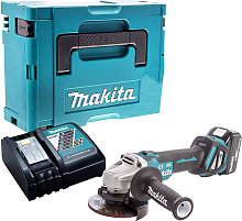Makita DGA467Z Brushless Angle Grinder with 1 x