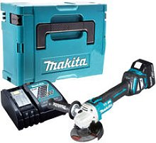 Makita DGA513Z Brushless Angle Grinder with 1 x