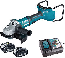 Makita DGA900Z 36V Brushless Angle Grinder with 2