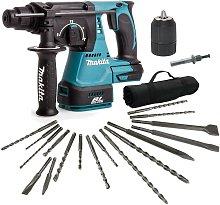Makita DHR242Z 18v LXT SDS Rotary Hammer Drill