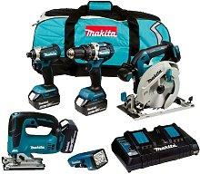 Makita DLX5043PT 18v Brushless 5 Piece LXT Multi