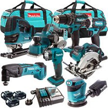 Makita DLX6094PT 18V LXT 8 Piece Cordless Power