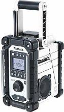 Makita DMR110W Li-ion DAB/DAB+ Job Site Radio -