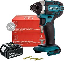 Makita DTD152Z LXT Impact Driver, Battery &