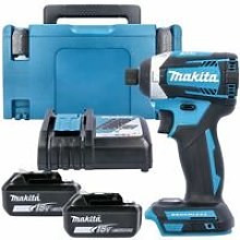 Makita DTD154 18V Brushless Impact Driver With 2 x