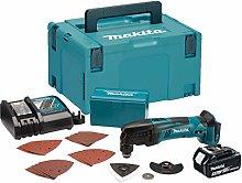 Makita DTM50RT1J1 Cordless Multi Tool, 18 V