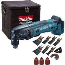 Makita DTM50Z 18V Oscillating Multitool with 39