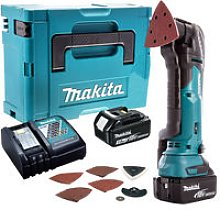 Makita DTM51ZJX7 18V LXT Multi Tool with 2 x 3.0Ah