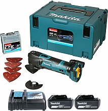 Makita DTM51ZJX7 18V Multi Tool With 23pc