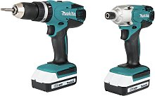 Makita G-Series 1.5Ah Combi Drill and Impact