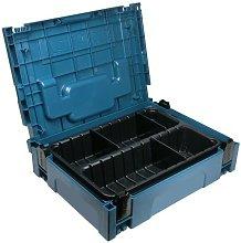 Makita MAKPAC 1 Organiser 2 Compartments 6