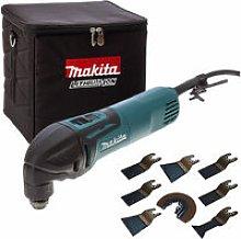 Makita TM3000C 240V Oscillating Multitool with 8