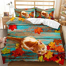 Maktn Bedding Set for Dogs and Cats, 3D Digital