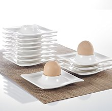 "MALACASA, Series Flora, 12-Piece 4.5"" Egg Cups"