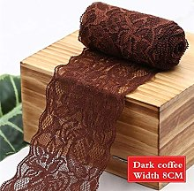 MALAT 8Cm Spandex Lace Elastic Crafts Sewing