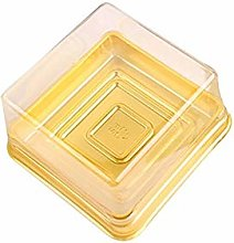 MALAT Egg-Yolk Containers Clear Plastic Cupcake