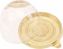 MALAT Plastic Cupcake Packaging Box Cake Dome