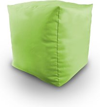 Malick Pouffe Ebern Designs Upholstery Colour: Lime