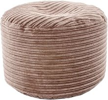 Malin Pouffe Ebern Designs Upholstery Colour: Mocha
