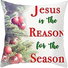 Malinmay Christmas Pillowcase, Polyester Christmas