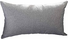 Malleable Rectangle Cushion Cover Silk Throw