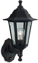 Malmo - 1 Light Outdoor Wall Lantern - Uplight