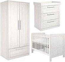 Mamas & Papas Atlas Cot Bed, Dresser &Amp; Wardrobe