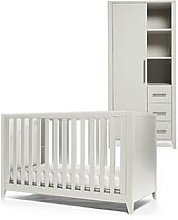 Mamas & Papas Melfi Cot Bed And Storage Wardrobe -