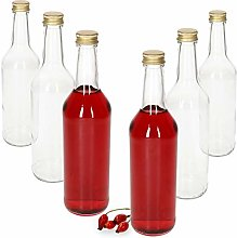 MamboCat 6-Piece Set Straight Neck Bottle 500 ml +