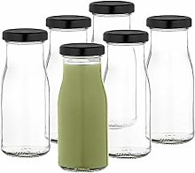 MamboCat Set of 6 juice bottles 156 ml + twist-off