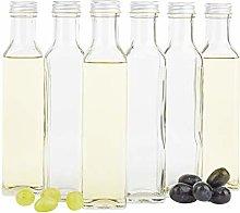 MamboCat Set of 6 Marasca Square Bottles 250 ml +
