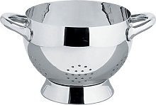 Mami Colander by Alessi Polished steel